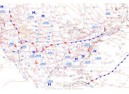 meteorology  weather fronts