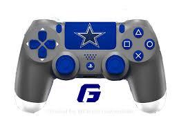 Dallas Cowboys Checks Designs Check Out All My Nfl Ps4 Controller Concept Dallas Cowboys