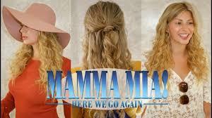 mamma mia s young donna hair makeup tutorial