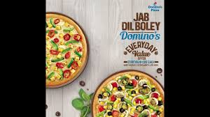 jab dil boley domino s everyday value offers pizza deals offers dominos india