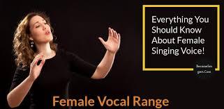 Female Vocal Range Becomesingers Com