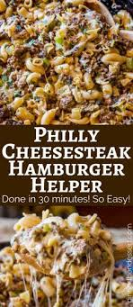 philly cheesesteak hamburger helper will make you forget all about the boxed type you had as