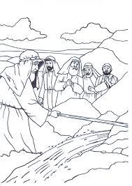 Exodus 17 Moses Striking The Rock
