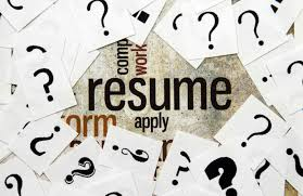 the functional resume part a the nontraditional career path resume and question marks