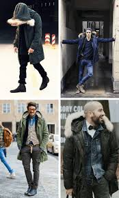 parka jackets men