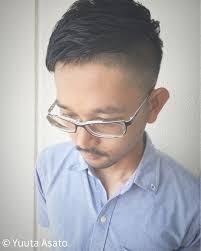 爽やか メンズ ショート 坊主hairmake Earth あがり浜店 Yuuta Asato