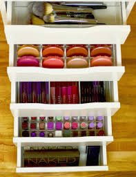 Ikea Alex drawers loaded all stocked up :) Top drawer is the Sonny  Cosmetics Alex 4 Brush Organizer, Second Drawer is the Alex 56 Blush  organizer, ...