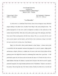 les miserables critical analysis literary criticism marxism