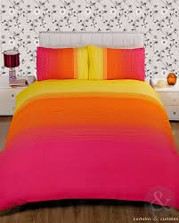 pink and yellow duvet cover sweetgalas