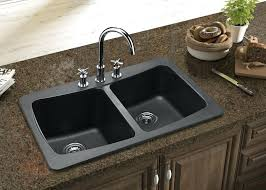composite kitchen sinks appealing best sink material granite at synthetic reviews