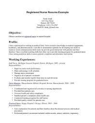 Registered Nurse Resume Example New Graduate Sample Surgical Icu