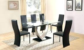 7 dining room table and 6 chairs round dining table sets for 6 6 person dining