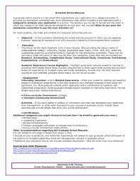 Graduate School Resume Examples Graduate School Resume Template Luxury High School Resume Example 6