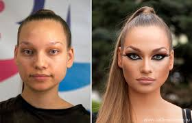 spark debate on reddit huffpost source russian s before and after makeup 20 photos funcage