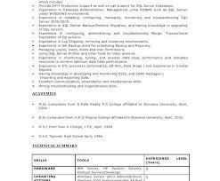Sql Experience Resume Sample Best Of Sql Dba 24 Years Experience Resume Sql Server Developer Resume