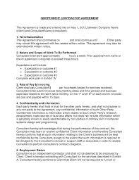 Consulting Contract Sample Rome Fontanacountryinn Com
