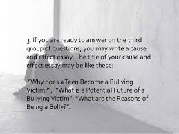bullying essay 10