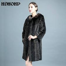 knitted mink jacket to new women real fur coat coats genuine leather jackets warm