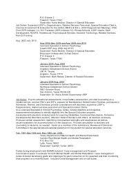 Licensed Psychologist Sample Resume New Sample Resume Objectives Psychology And Resume Samples Objective