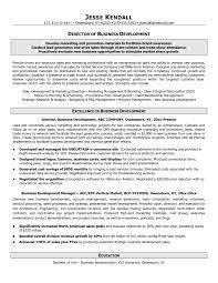 Save Sample Resume For Business Development Specialist Onda