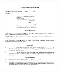 An agency agreement, also sometimes called an agent agreement, is a document between two your document is ready! Free 11 Sales Agency Agreement Templates In Pdf Ms Word Google Docs Pages