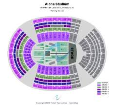Aloha Stadium Tickets And Aloha Stadium Seating Chart Buy