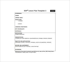 Siop Lesson Plan Template 1 10 Siop Lesson Plan Templates Doc Excel Pdf Free Premium