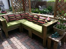 back to outdoor sectional furniture in garden