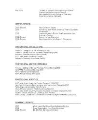 Pharmacist Sample Resume Pharmacist Resume Sample Word Example Spacesheep Co