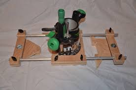 updated pics router edge guide trammel jig