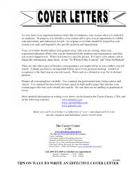 General Cover Letter For No Specific Job Cover Letter