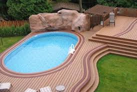 Above Ground Swimming Pool Deck Designs Above Ground Swimming Pool