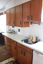 how to achieve a super smooth finish when painting old kitchen cabinets