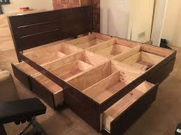 bed frame with drawers for my room which is typically where you keep beds