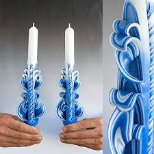 Wonderful Luxury Hand Carved Taper Candles For Unique Christmas Gifts, Home Decor And Unusual  Housewarming Gift