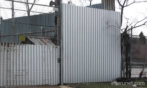 Beautiful Sheet Metal Fence Commercialmetalfence With Inspiration Decorating