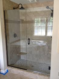 ... Excellent Lowes Shower Glass Door Cheap Shower Doors Frameless Gallery:  lowes shower glass ...