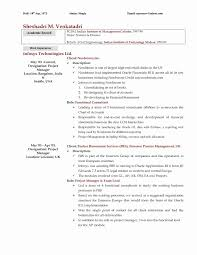 Internal Resume Template Resume For Study