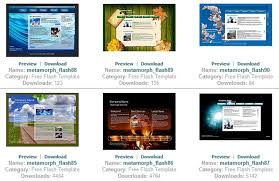 Flash Website Templates Stunning 48 Free Flash Templates Download Website Nttcc