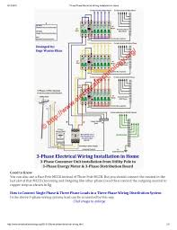 three phase electrical wiring installation in home 3 Phase Electrical Wiring Diagram click image to enlarge; 2 8 12 2016 three phase electrical wiring electrical wiring diagrams 3 phase