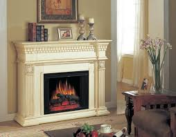 new antique white electric fireplace classic flame a console sus mantel package sop 272 w simmons