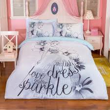 100 cotton disney bedding sets twin queen size quilt cover duvet cover bed cover flat