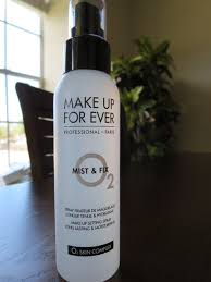 my experience with make up forever mist and fix makeup setting spray