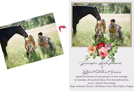 10 great customized photo wedding invitation ideas Wedding Invitation Photography Ideas countryside outdoor wedding photo invitation ideas with pets wedding invitation photo ideas