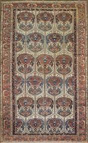 antique persian bakhtiari rug restoration cleaning stain removal s appraisals