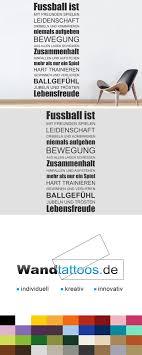 Wandtattoo Fußball Ist Leidenschaft Spruchbanner Fitness Sprüche