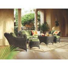 Wicker Living Room Sets Martha Stewart Living Patio Furniture Outdoors The Home Depot