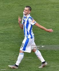 Manuel Pucciarelli of Pescara Calcio celebrates after scoring opening...  News Photo - Getty Images