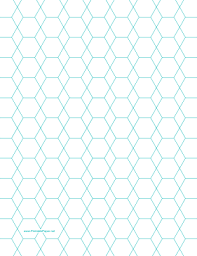 Printable Hexagon And Diamond Graph Paper With 1 2 Inch Spacing On