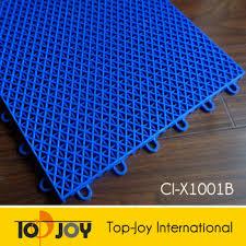 interlocking plastic floor tiles. Plain Tiles PP Grid Sport Outdoor Interlocking Plastic Floor Tiles On